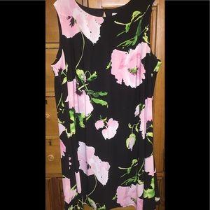 ⭐️ Anne Klein floral dress size 18 wide